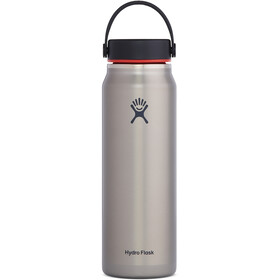 Hydro Flask Wide Mouth Trail Lightweight Drinkfles met Flex Cap 946ml, slate